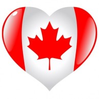 heart shaped flag